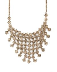 Forever 21 - Statement Floral Bib Necklace - Lyst