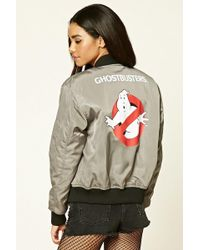 Forever 21 - Ghostbusters Bomber Jacket - Lyst