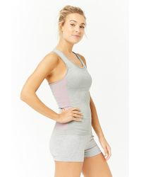 Forever 21 - Active Striped Tank Top - Lyst