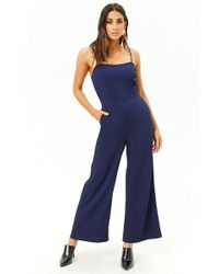 Forever 21 - Women's Wide-leg Cami Jumpsuit - Lyst