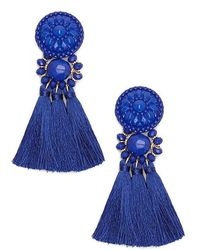 Forever 21 - Beaded Tassel Earrings - Lyst