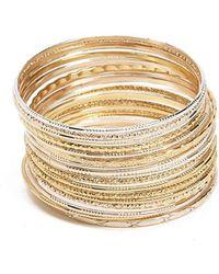 Forever 21 - Bangle Bracelet Set - Lyst