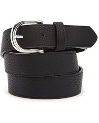 Forever 21 - Pebbled Faux Leather Belt - Lyst