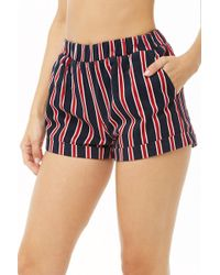 09b7f374d6 Lyst - Forever 21 Plus Size Roman Numeral Shorts in Black