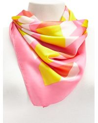 Forever 21 - Satin Geo Scarf - Lyst
