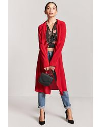 Forever 21 - Women's Contemporary Drape-front Jacket - Lyst