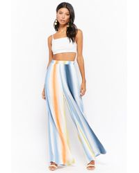 Forever 21 - Women's Striped Palazzo Trousers - Lyst
