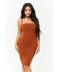 Forever 21 - Cami Bodycon Dress - Lyst