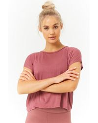 Forever 21 - Active Semi-sheer Tee - Lyst