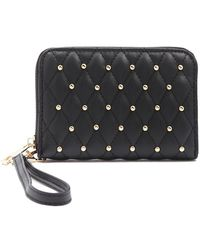 Forever 21 - Studded Quilted Wallet - Lyst