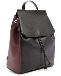 Forever 21 - Faux Leather Colorblock Backpack - Lyst