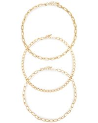 Forever 21 - Women's Chain Necklace Set - Lyst