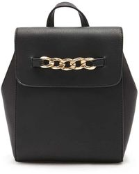 Forever 21 - Chain-accent Flap Backpack - Lyst