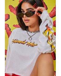 0155903eb Forever 21 - Flamin Hot Cheetos Graphic Tee - Lyst