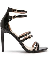 Forever 21 - Faux Patent Leather Strappy Stilettos - Lyst
