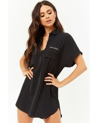 Forever 21 - Bonne Nuit Bisous Graphic Sleep Shirt - Lyst