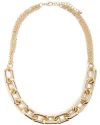 Forever 21 - Statement Anchor Chain Necklace - Lyst