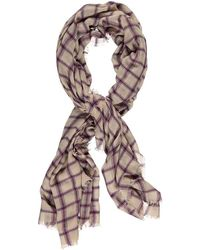 Forever 21 - Check Frayed Oblong Scarf - Lyst