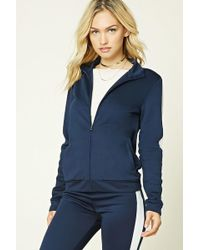 5977cfd7209141 Forever 21 - Women s Contemporary Track Jacket - Lyst