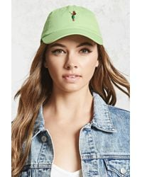 Forever 21 - Hula Girl Dad Cap - Lyst