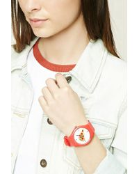 Forever 21 | Pizza Graphic Analog Watch | Lyst