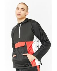 Forever 21 - American Stitch Colorblocked Anorak - Lyst
