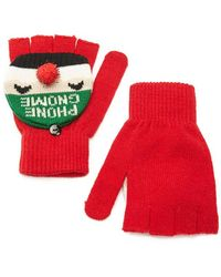 Forever 21 - Phone Gnome Convertible Gloves - Lyst