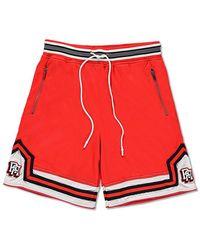 Forever 21 - Reason Varsity Striped Shorts - Lyst