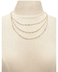 Forever 21 - Rhinestone Layer Necklace - Lyst