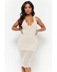 0aa83041a3 Lyst - Forever 21 Crisscross-back Bodycon Dress You ve Been Added To ...