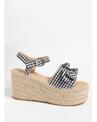 Forever 21 | Lemon Drop By Privileged Shoes Wedge Espadrille Sandals | Lyst