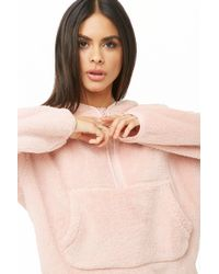 Forever 21 - Active Faux Fur Pullover - Lyst