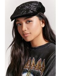 Forever 21 - Crushed Velvet Cabby Hat - Lyst