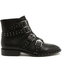 Forever 21 - Women's Studded Faux Leather Booties - Lyst