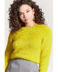 FOREVER21 - Fuzzy Knit Sweater - Lyst
