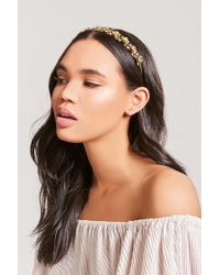Forever 21 - Etched Flower Headband - Lyst
