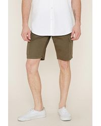 Forever 21 - Cotton Cargo Shorts - Lyst