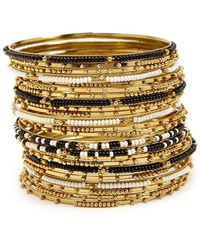 Forever 21 - Beaded Bangle Bracelet Set - Lyst