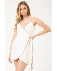 Forever 21 - Selfie Leslie Wrap Dress - Lyst
