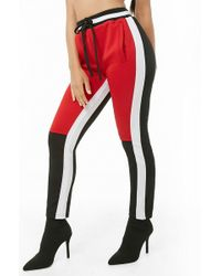 Forever 21 - Women's Plus Size Colorblock Track Trousers - Lyst