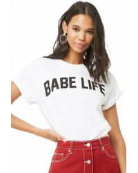 Forever 21 - The Style Club Babe Life Graphic Tee - Lyst