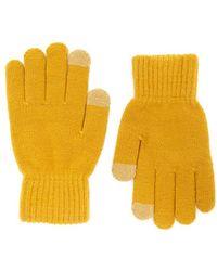 Forever 21 - Ribbed Trim Knit Gloves - Lyst