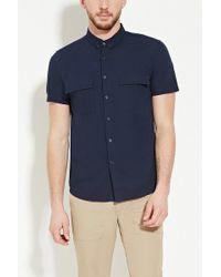 Forever 21 - Pocket-front Shirt - Lyst
