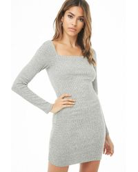 Forever 21 - Ribbed Bodycon Mini Dress - Lyst
