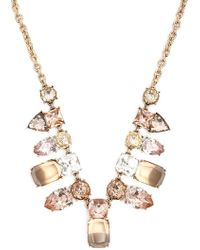 Forever 21 - Women's Faux Gem Statement Necklace - Lyst