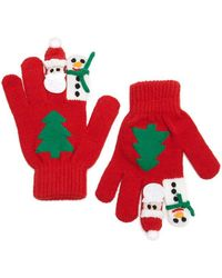 Forever 21 - Christmas Graphic Gloves - Lyst