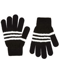 Forever 21 - Fuzzy Striped Gloves - Lyst