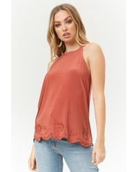 Forever 21 - Embroidered Swing Top - Lyst