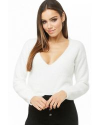 Forever 21 - Women's Fuzzy Knit Sweater - Lyst