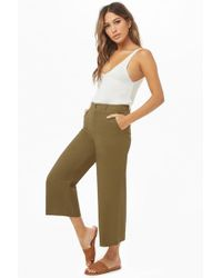 Forever 21 - Chino Ankle Trousers - Lyst